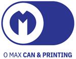 O MAX CAN & PRINTING CO.,LTD. Logo